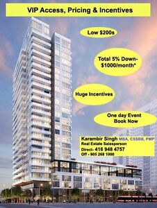 The Wyatt Condo.From low $200s.Buy with 5% Down-$1000/Month