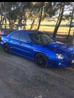 2004 WRX CLUB SPEC EVO 7 RALLY BLUE