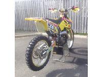 Suzuki rm 125 **high spec**motocross bike px 250 450