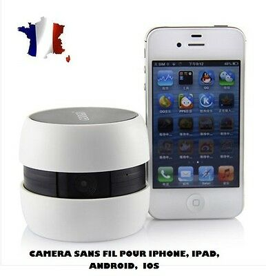 Caméra sans fil IP WIFI pour IPHONE-TABLETTE-ANDROID-IOS-Baby Monitor- Espion usato  Spedire a Italy