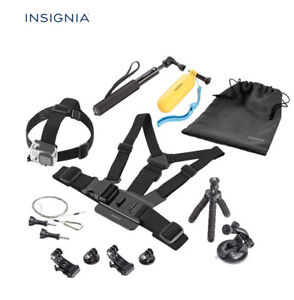 Insignia Essential 10 Piece Accessory Kit for GoPro HERO 1/HERO