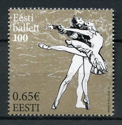 Estonia 2018 MNH Estonian Ballet 100 Years 1v Set Dance Stamps