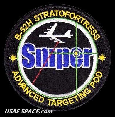 Used, USAF - SNIPER - ADVANCED TARGETING POD - B-52H STRATOFORTRESS - ORIGINAL PATCH for sale  Fullerton
