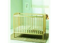 Kinder valley Sydney cot. Natural pine. Come with FREE mattress. Brand new 3 left in stock.