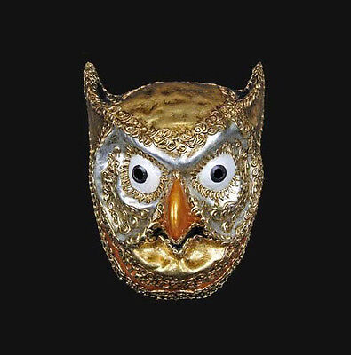 Mask from Venice Owl Beautiful and Authentic Venetian 276