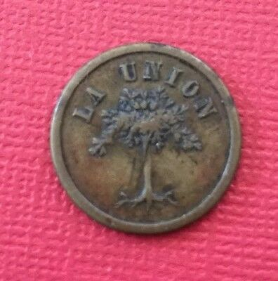 Costa Rica Alejo Jimenes Coffee Plantation Token - La Union