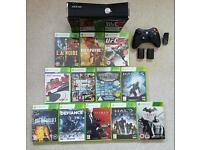 Xbox 360 S (250gb) and 12 Games £110 ono