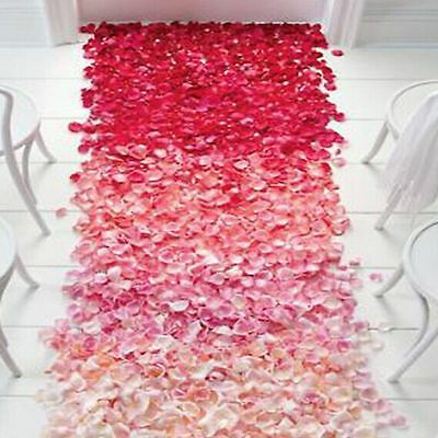 1000 pcs Various Colors Silk Flower Rose ...