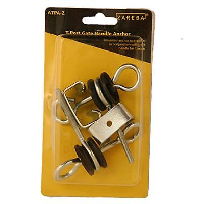 Zareba Atpa-z T Post Gate Handle Anchors Screw In Design Type 2 Per Package