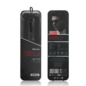Remax - RB-T15 - High-End & Stylish Bluetooth 4.1 Business Headset - BRAND NEW SEALED - Clearance Sale