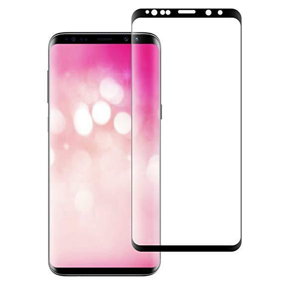 Samsung Galaxy S9 S8 Plus Note 8 4D Full Cover Tempered Glass Screen Protector Cell Phone Accessories