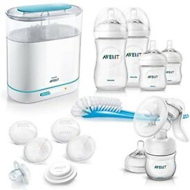 Philips AVENT Manual breast pump & feeding set