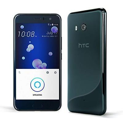 HTC U11 Factory Unlocked 64GB Brilliant Black With Handsfree ALEXA Brand New
