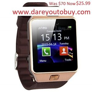 Bluetooth Smart Watch with Camera DZ09 (in box)