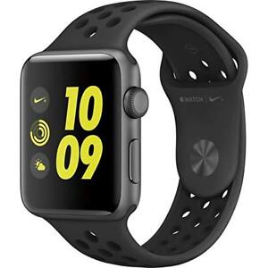 apple MNNW2LL/A Watch Nike Plus 38mm Space Gray Aluminum