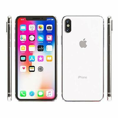 Apple iPhone X - 64GB - Silver - Factory GSM Unlocked AT&T / T-Mobile Smartphone