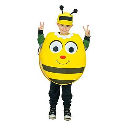 NWT Honey Bee Costume Kids One Size Fits 4 to 9 years old, eyes move (One Year Old Costumes)