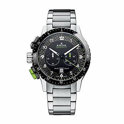 NEW Edox Chronorally Men's Chronograph Watch - 10305 3NVM NV