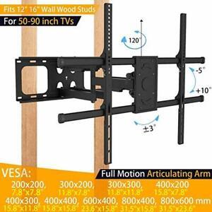 """TV mount - heavy duty - 50-90"""", up to 165lbs, tilt,swivel,extend"""