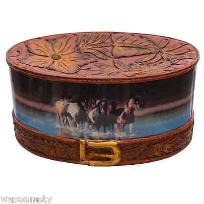 (Horse Run In Water Rush Hour Western Cowboy Theme Soap Dish Accessory Bath Decor)