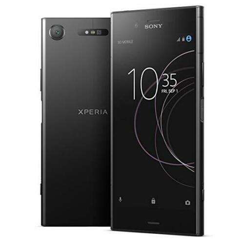 Android Phone - Sony Xperia XZ1 64GB Black G8341 Factory Unlocked Android Smartphone New SEALED