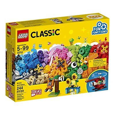 NEW LEGO Classic 10712 Bricks And Gears Building Kit