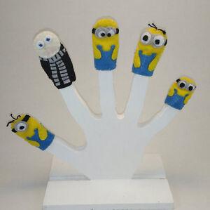 Minions Finger Puppet Set