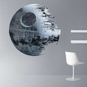 Star Wars - Death Star - Wall Sticker Mural Decal Decor - FAST USA SHIP