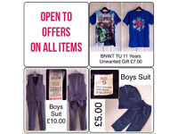 VARIOUS BOYS/KIDS CLOTHES ~ SELL SEPARATE OR AS A BUNDLE