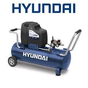 NEW HYUNDAI 11-GAL AIR COMPRESSOR 1.1 HP MOTOR - AIR COMPRESSORS AUTOMOTIVE POWER EQUIPMENT AIR TOOLS PORTABLE