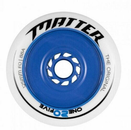 Matter One20five, 125 mm, F0 inline skating wheels...set of 6 - NEW!