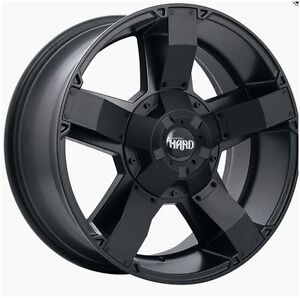 Roues (Mags) 4 saisons Ruffino HD Helix Noir Satin 17-18- 20 po