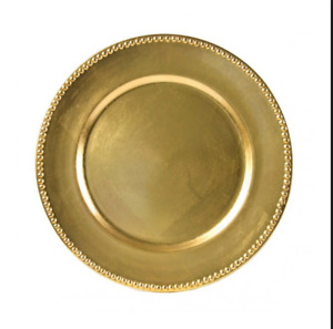 Charger plates - GOLD OR SILVER