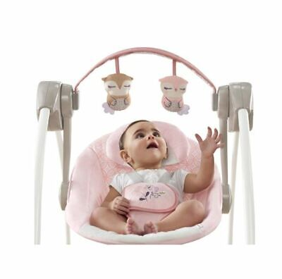 Girls Best Baby Infant Swing Compact Ingenuity Portable Adjustable Music