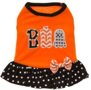 Adorable Halloween dress for a puppy (xs)