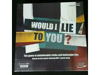 Would I Lie To You Board Game (NEW)