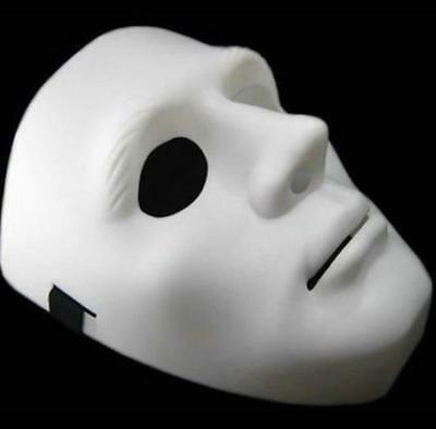 Jabbawockeez Americas Best Dance Crew Halloween costume full face white Mask (Best Halloween)