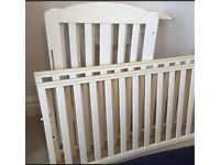 Mothercare Takeley dropside cot