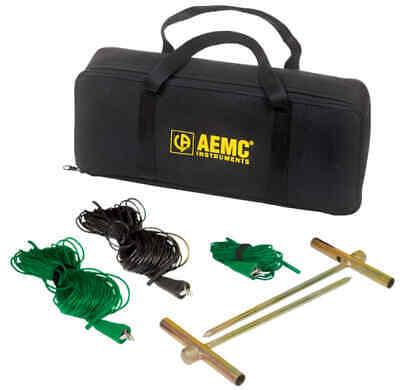 Aemc 2135.38 3-point Ground Resistance Tester Kit