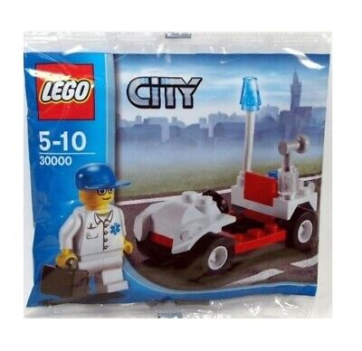 Lego City - 30000 Doctor with Car - Polybag New/Boxed
