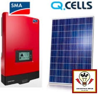 6.095KW EUROPEAN PV SOLAR SYSTEM - SMA - QCELL G4PRO 265W Daisy Hill Logan Area Preview
