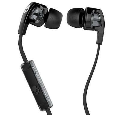 SKULLCANDY S2PGfY-003 Earbud Headphones&Mic Answer Phone Fit Iphone Ipod Android Skull Candy Ipod