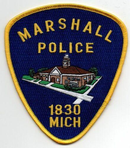 MICHIGAN MI MARSHALL POLICE NICE PATCH SHERIFF