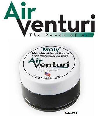 Air Venturi Moly Metal-to-Metal Paste, 1 oz. by Air Venturi Model # 259MP ()