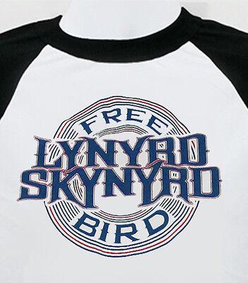 LYNYRD SKYNYRD new  T SHIRT free bird southern rock  music  mens
