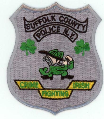 NEW YORK SUFFOLK COUNTY POLICE CRIME FIGHTING IRISH NEW PATCH SHERIFF