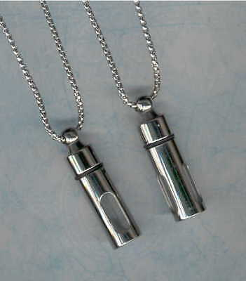 J,Urns,Keepsake Urn,Cremation Urn Pendant,Stainless Steel Pendant,Necklace