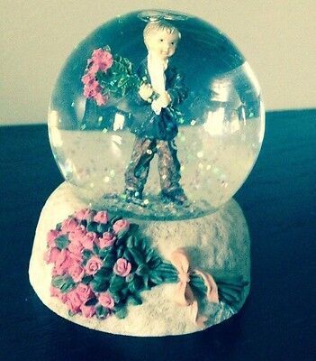 Kim Anderson, Pretty As A Picture, Forever Water Globe, Adorable! Rare
