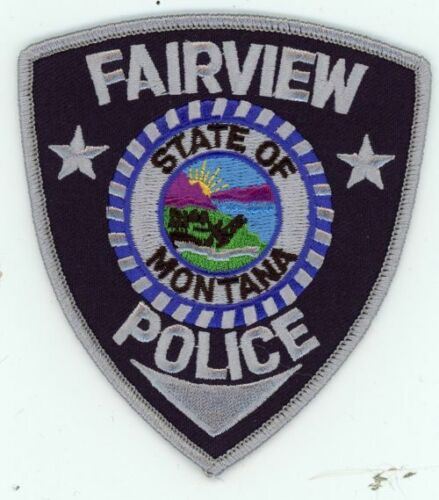 FAIRVIEW POLICE MONTANA MT NEW PATCH SHERIFF