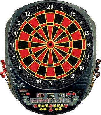 interactive 6000 electronic soft tip dartboard w